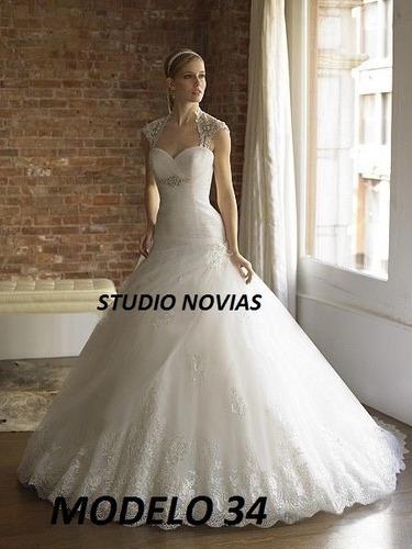 vestido de novia nuevo barato modelo 34 princes ivory blanco