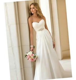 Vestido De Novia Nuevo Blanco Y Blanco Ivory