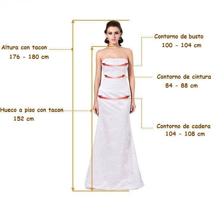 vestido de novia nuevo elegante escote hombros caidos - $ 4,700.00