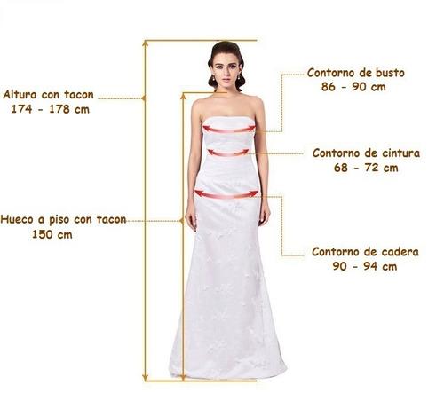 vestido de novia nuevo estilo imperio escote reina ana - $ 2,600.00