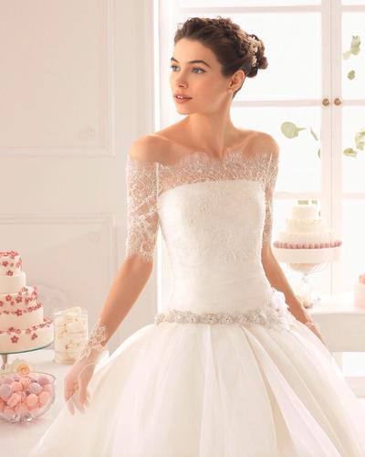 vestido de novia nuevo, marca aire barcelona