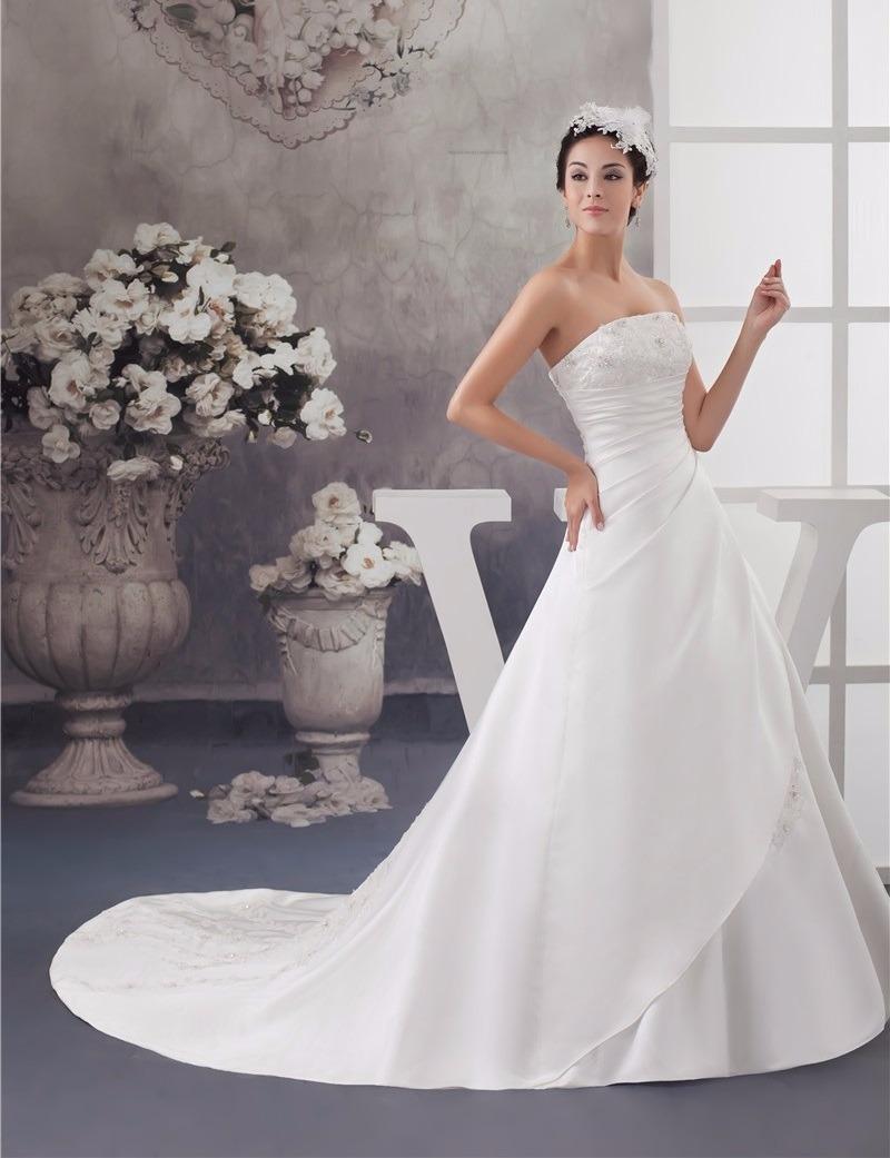 Vestido De Novia Nuevo Talla 4 6 8 Delpilar Modelo Nj 01 - $ 195.000 ...
