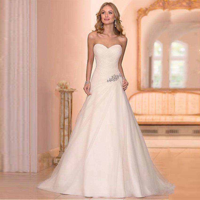 vestido de novia nuevo talla 6 delpilar modelo ni 01 - $ 133.990 en