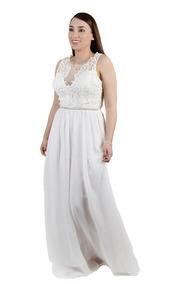 f05cbf705 Vestido De Novia Embarazada Para Civil - Vestidos en Mercado Libre ...