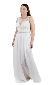 Vestidos largos para gorditas para bodas