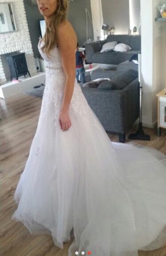vestido de novia oferta fotos reales envío gratis