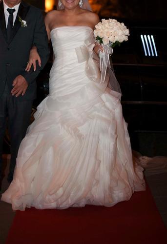 vestido de novia original diseñadora vera wang