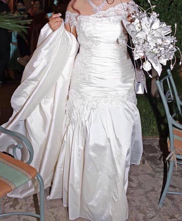 Vestido De Novia Personalizado - $ 11,999.00 en Mercado Libre