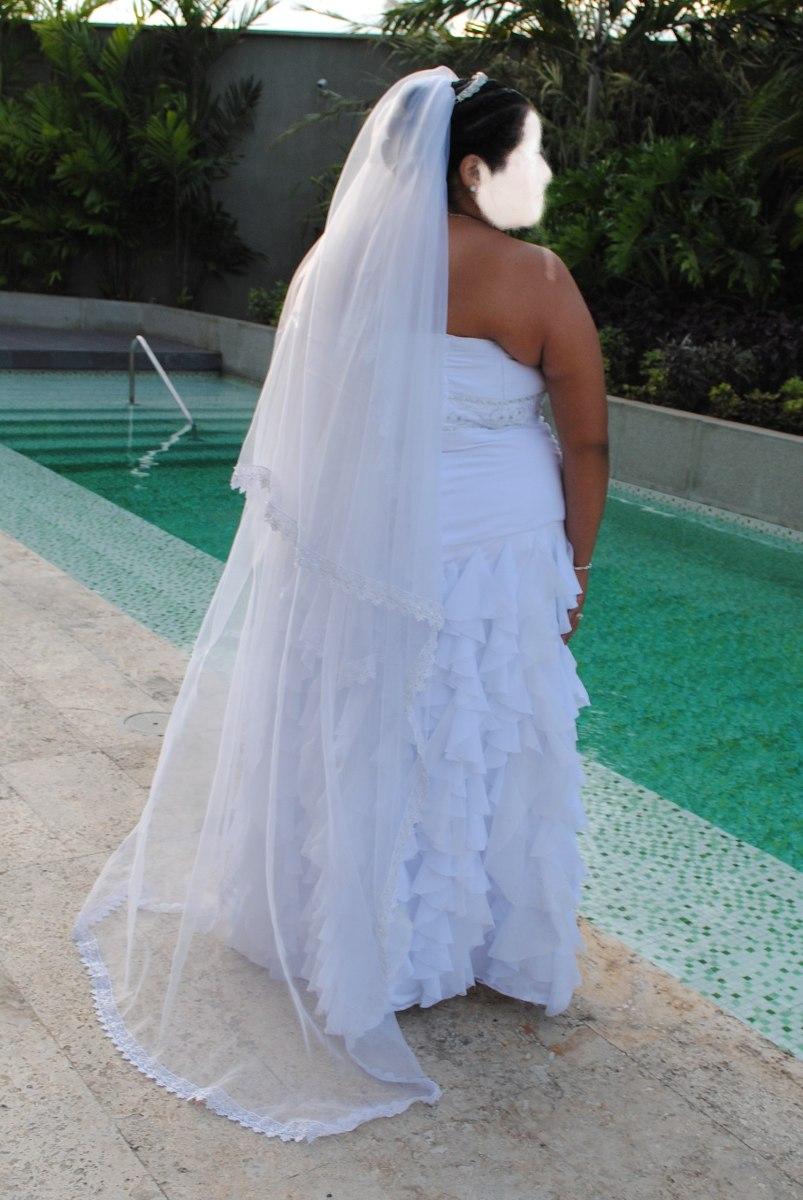 Vestido De Novia Plus Hermoso! - Bs. 500.000,00 en Mercado Libre