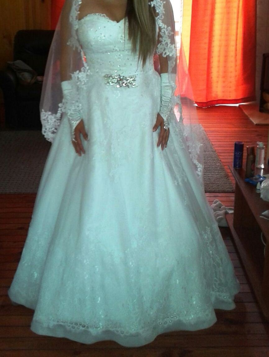 Vestido De Novia Princesa - $ 185.000 en Mercado Libre