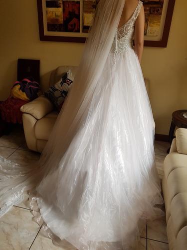 vestido de novia  - princesa