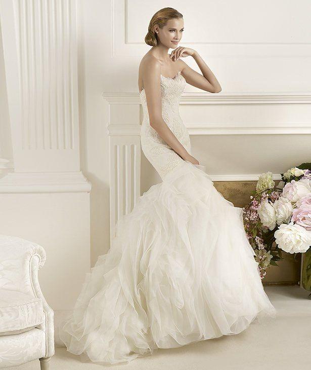 Vestidos de novia tul precios