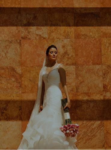 vestido de novia, pronovias, modelo: precious