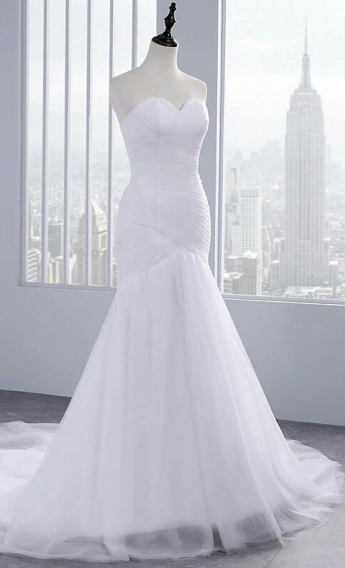 vestido de novia reloj de arena nuevo sellado - s/ 299,00 en mercado
