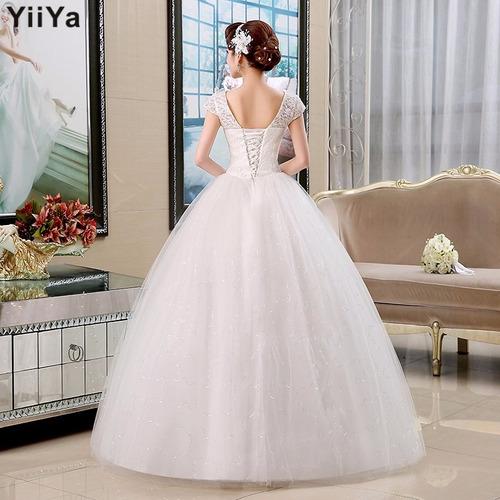 vestido de novia romantic crystal envio gratis