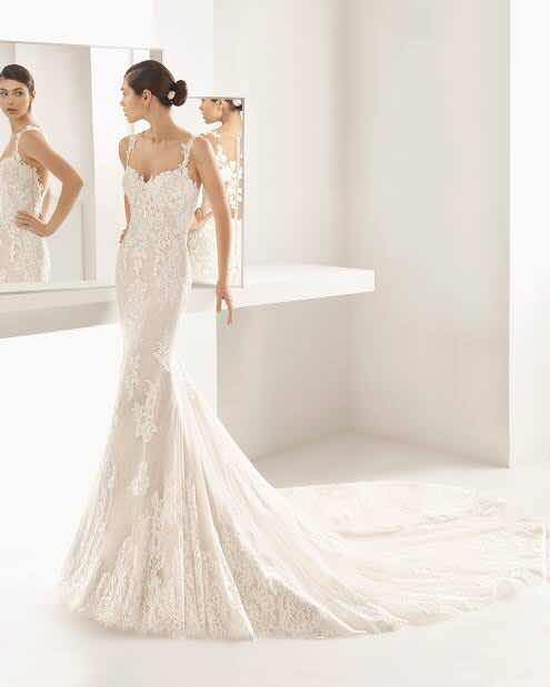 vestido de novia rosa clara - $ 40,000.00 en mercado libre
