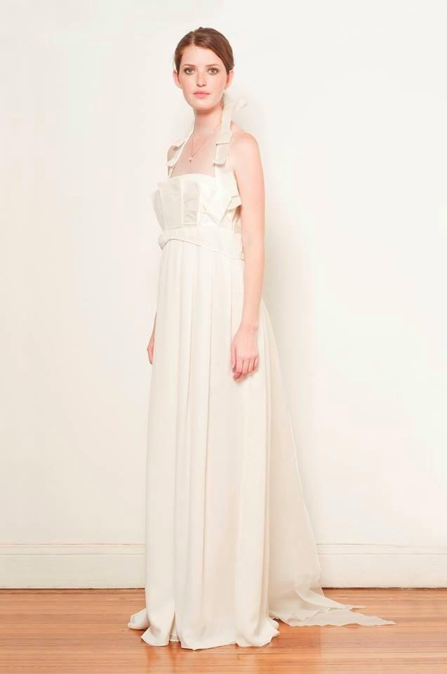 Vestidos de novia en seda natural