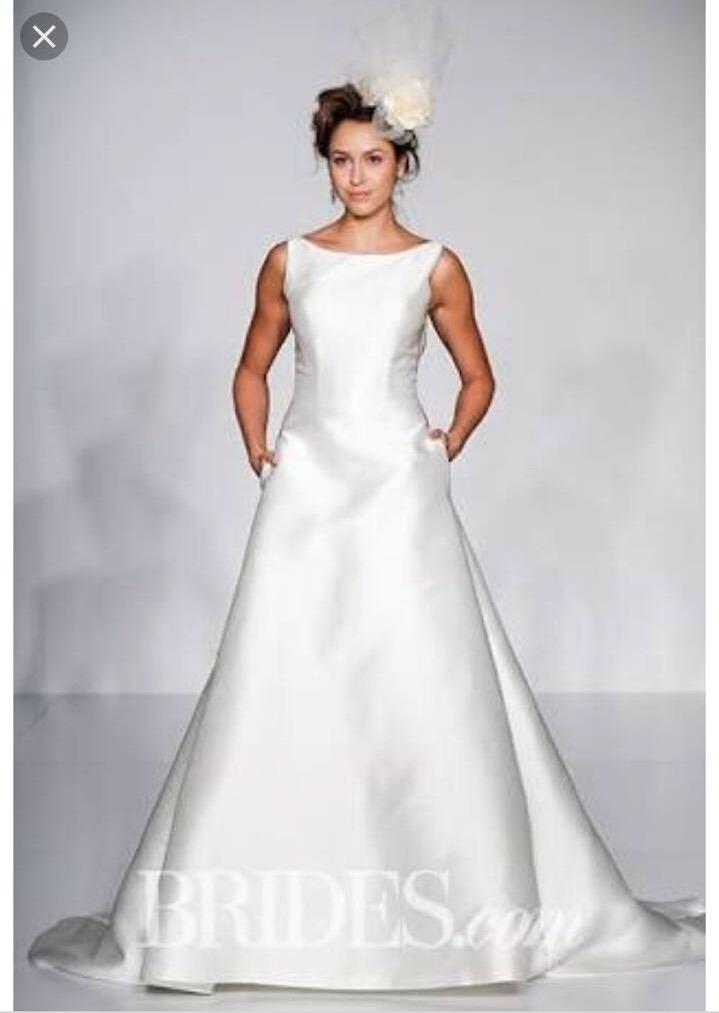 vestido de novia seda ,sottero and midgley talla 6 pronovias