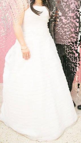 vestido de novia. seminuevo.