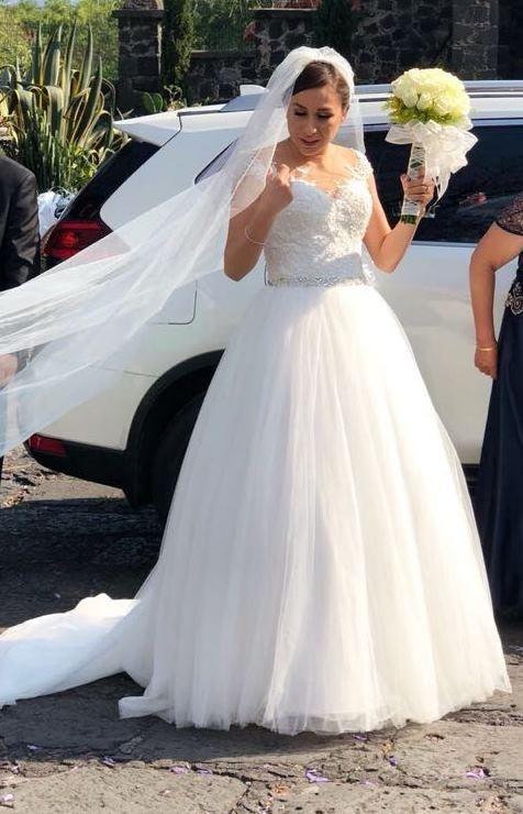 vestido de novia seminuevo essence - $ 7,800.00 en mercado libre