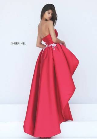 vestido de novia sherri hill nuevo - $ 12,560.00 en mercado libre