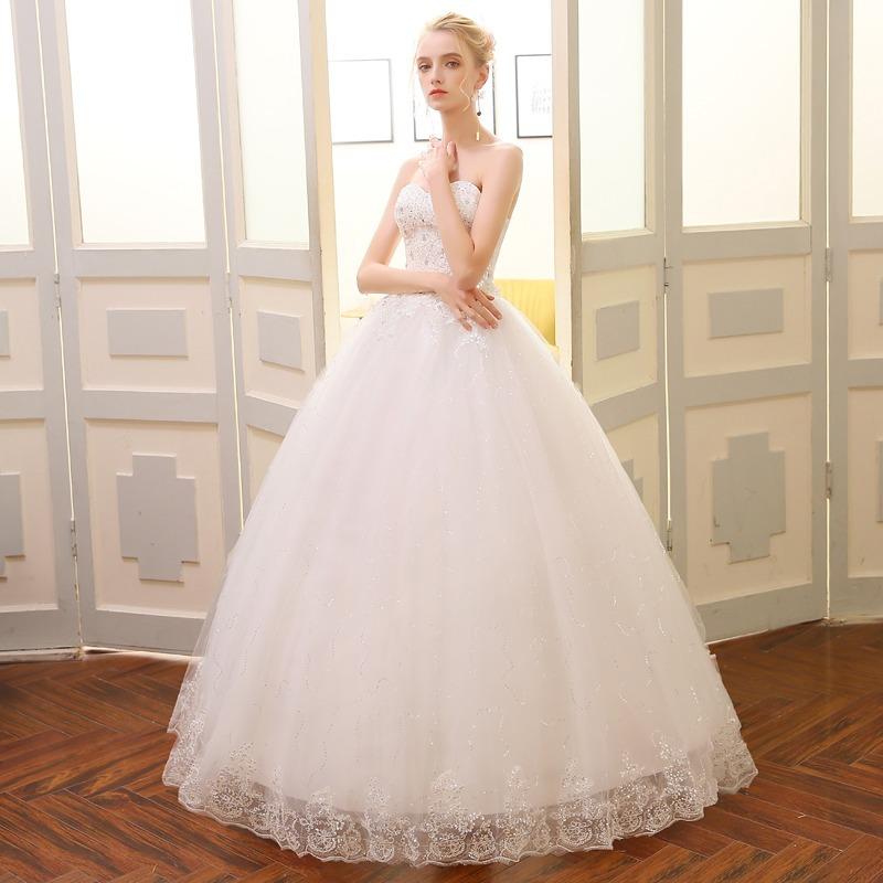 vestido de novia sin mangas - $ 3,999.00 en mercado libre