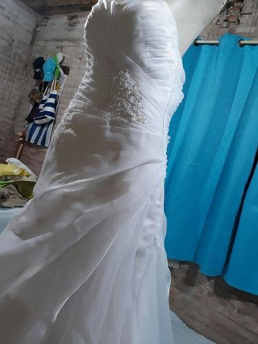 vestido de novia sin uso impecable!!!