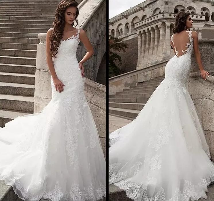 vestido de novia sirena #40 precio de seña - $ 5.750,00 en mercado libre