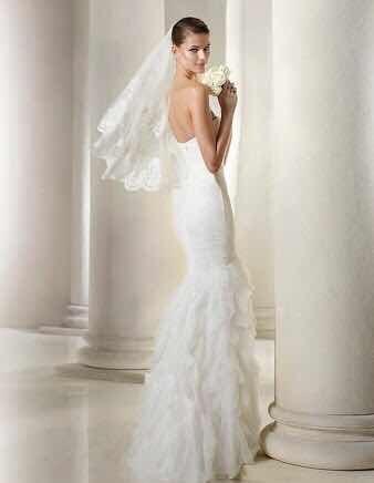 vestido de novia st patrickpronovias - $ 8,900.00 en mercado libre