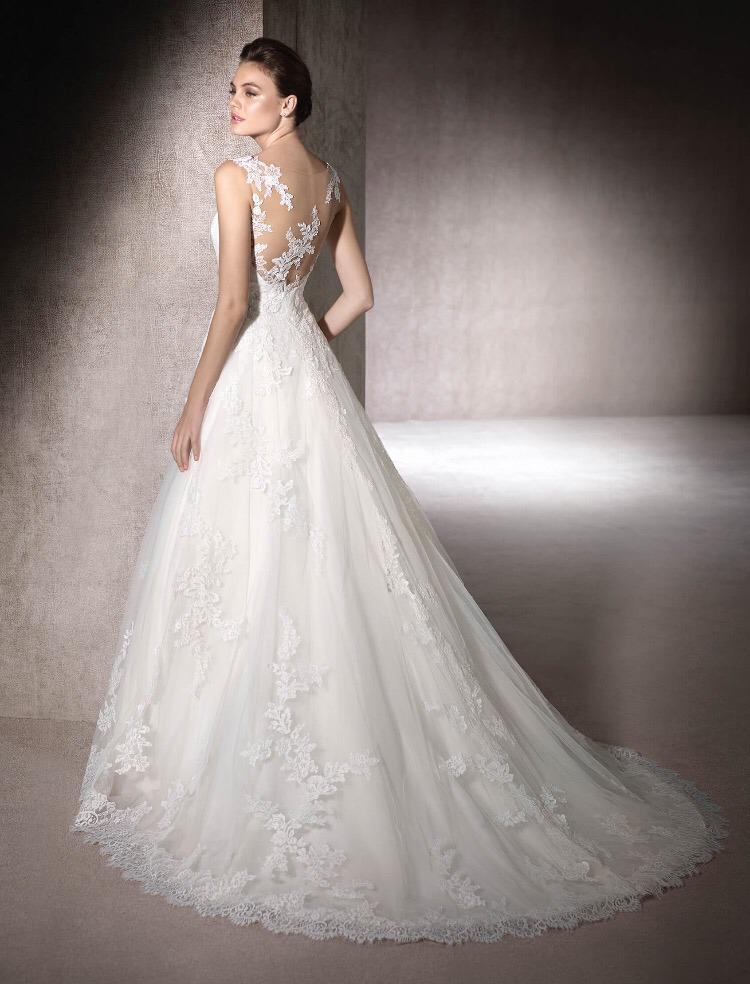 vestido de novia st patrick moussia 2017 usado - $ 14,000.00 en