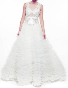 f5eab1aa04 Vestido Blanco Cuerpo - Vestidos de Novia de Mujer en Mercado Libre ...