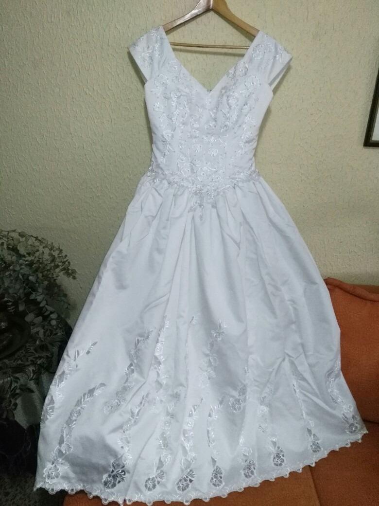 Vestido De Novia Talla 12 Fashion Yoli - ¢ 30,000.00 en Mercado Libre