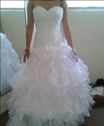 vestido de novia talla 36 - 38 - 40, nuevo, hermoso,straples