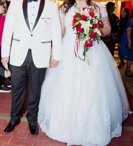 Vestido para boda talla 48