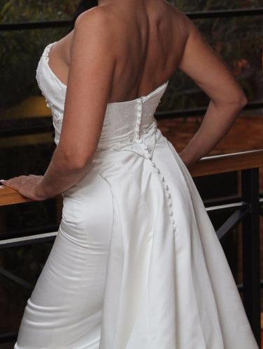 vestido de novia talla 8 usado como nuevo