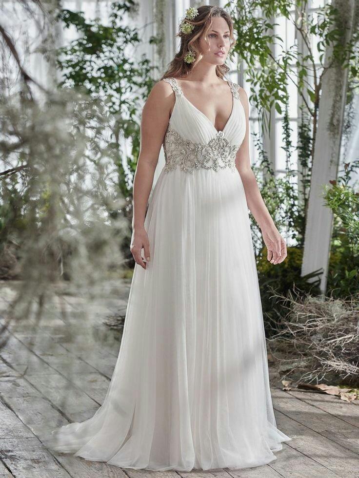 disfruta de un gran descuento nuevo baratas Calidad superior Vestido De Novia Talla Grande