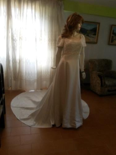 vestido de novia talla l