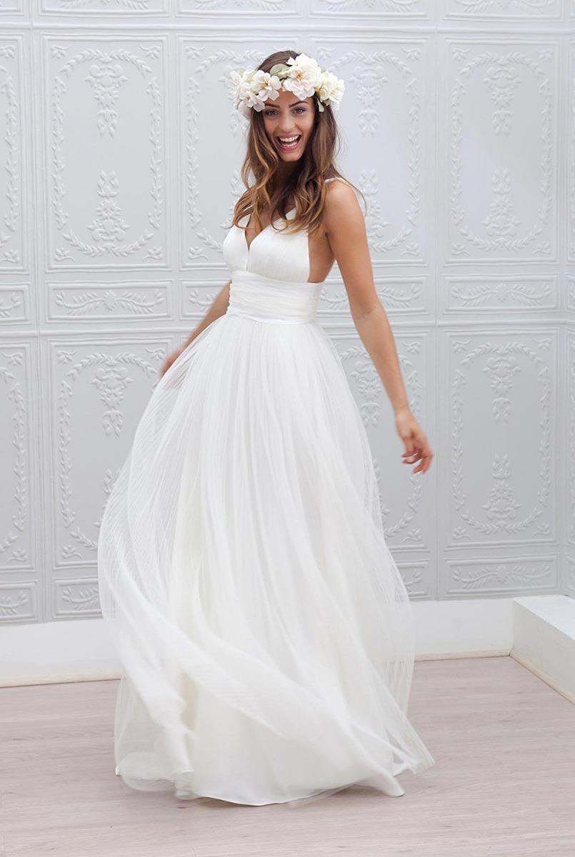 Vestidos de novia talla mediana