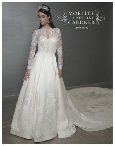 vestido de novia talla mediana