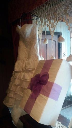 vestido de novia talla s