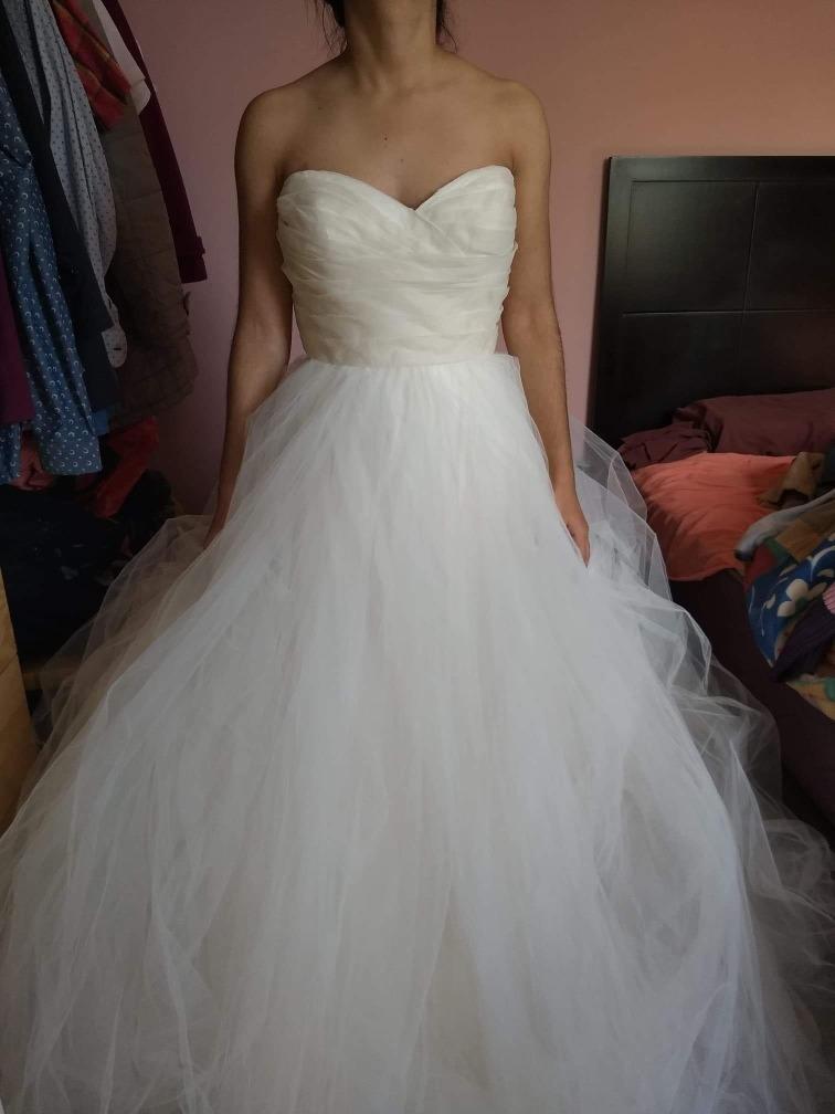 vestido de novia tara keely - $ 12,500.00 en mercado libre