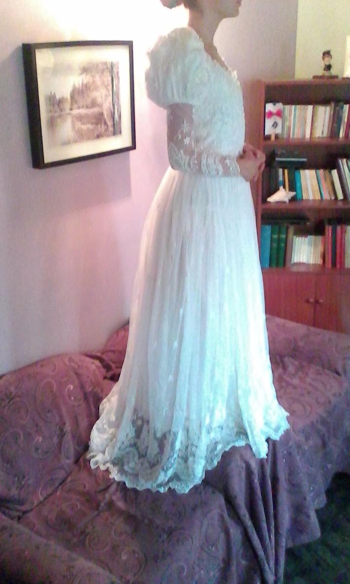 Vestido De Novia Tela Tul Bordado - Bs. 5.000.000,00 en Mercado Libre