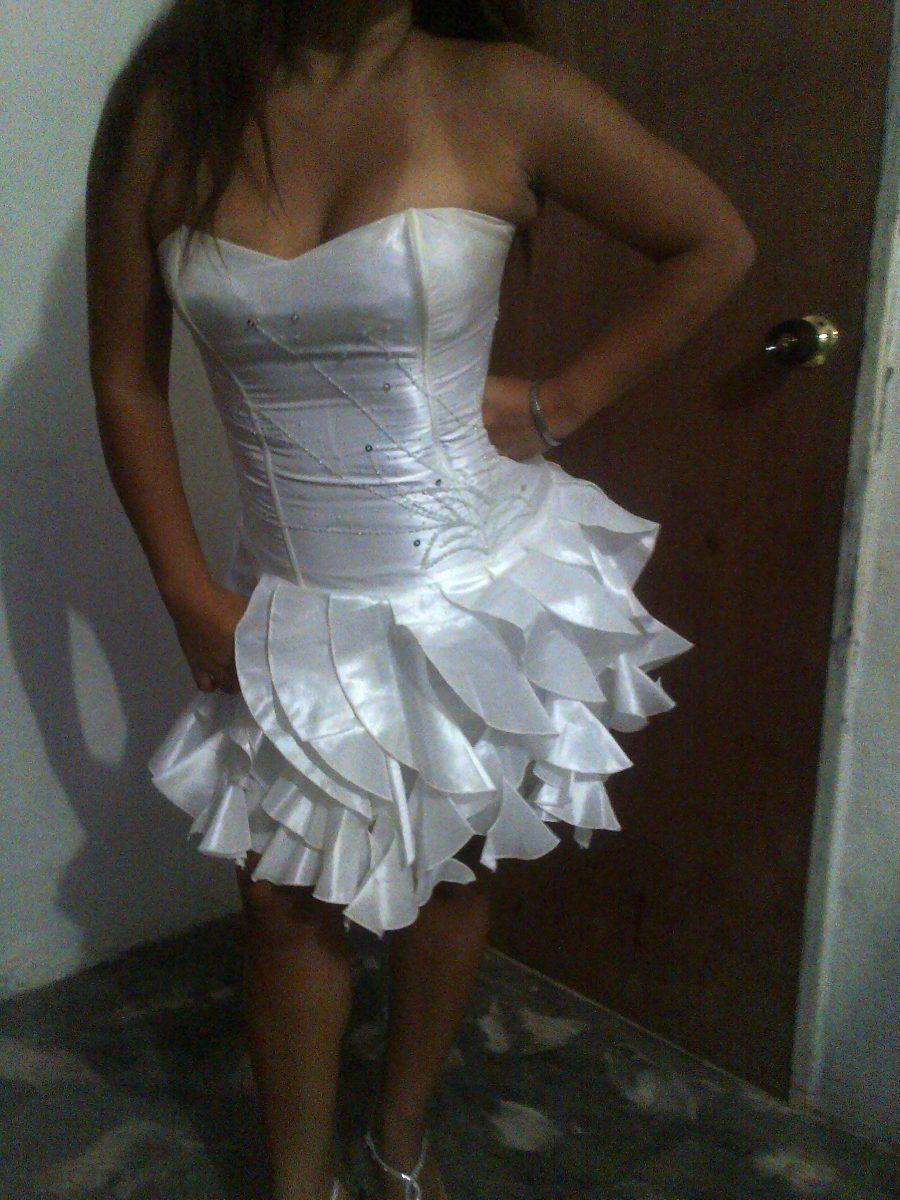 Vestido De Novia Tipo Corset, Color Blanco, Talla U - Bs. 25.000,00 ...