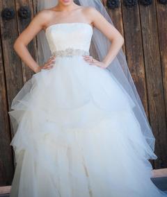 Vestido De Novia Tipo Princesa White By Vera Wang