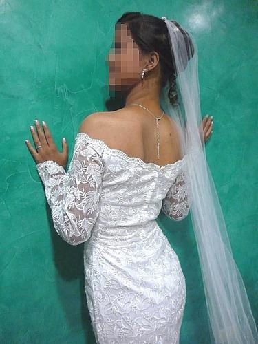 vestido de novia tipo sirena