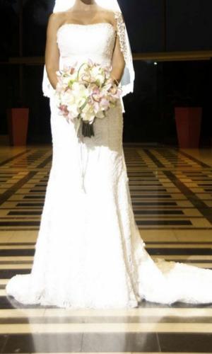 vestido de novia tipo sirena excelentes condiciones