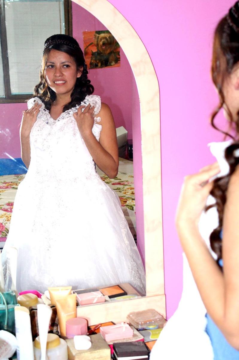 Vestido De Novia Usado 1 Vez Graduable En Podesua - S/ 1.500,00 en ...