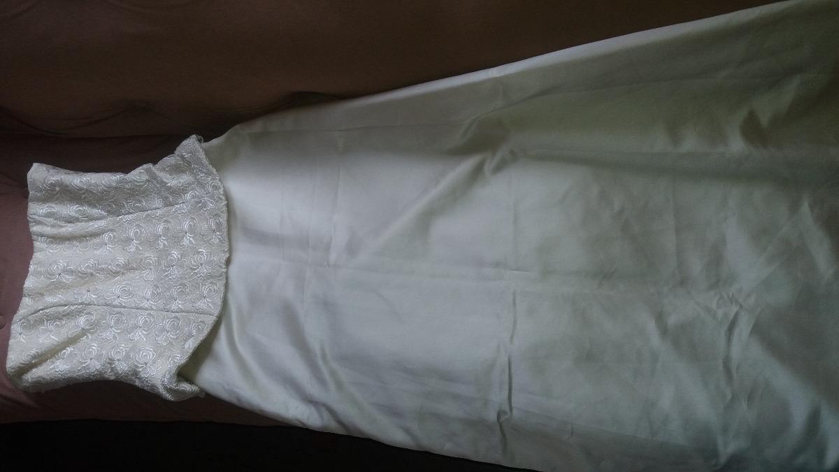 Vestido De Novia Usado Corsette De Dos Piezas Talla M C/velo - Bs ...