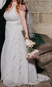 Vestido De Novia Usado Marca David Bridals Talla 16 Amyglo