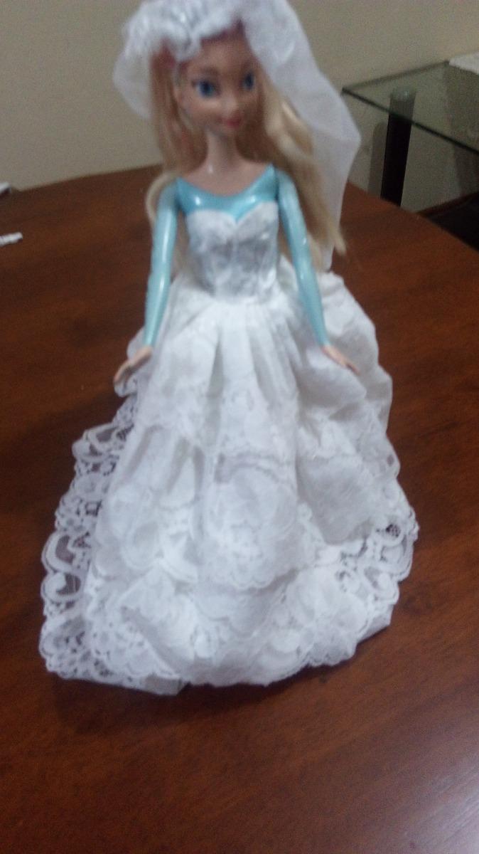 Vestido De Novia Y Novio Barbie Y Kent O Similar - $ 11.000 en ...
